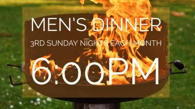 Monthly Men's Dinner