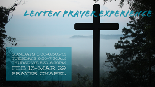 Lenten Prayer Experience