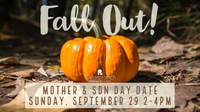 Fall Out! A Mother & Son Day Date